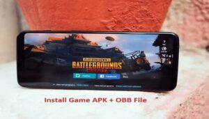 instalar APK del juego con un archivo OBB