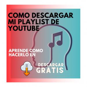 ¿se puede descargar playlist youtube? la respuesta aqui