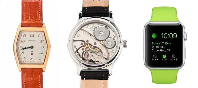 Evolución de los relojes