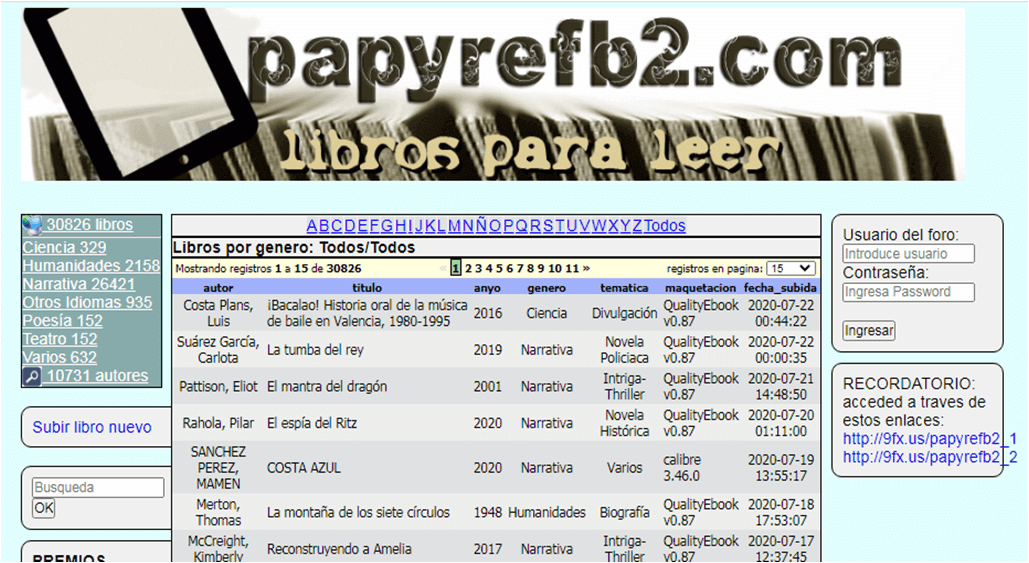 Alternativa a Papyre Ebook Descargar Gratis