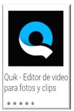 Quik editor de video alternativa a iMovie