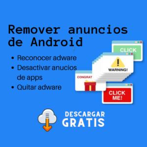 Remover anuncios de Android