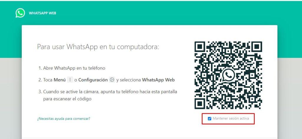 Verificación de WhatsApp en PC