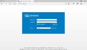 Zimbra Webmail