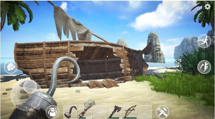 Arca construida Last Pirate Android