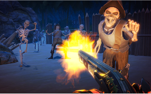 Esqueletos asesinos Last Pirate
