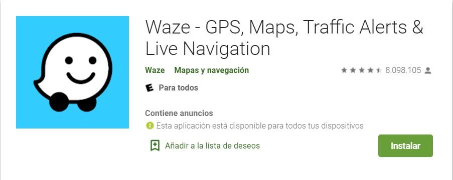 Waze GPS para Android