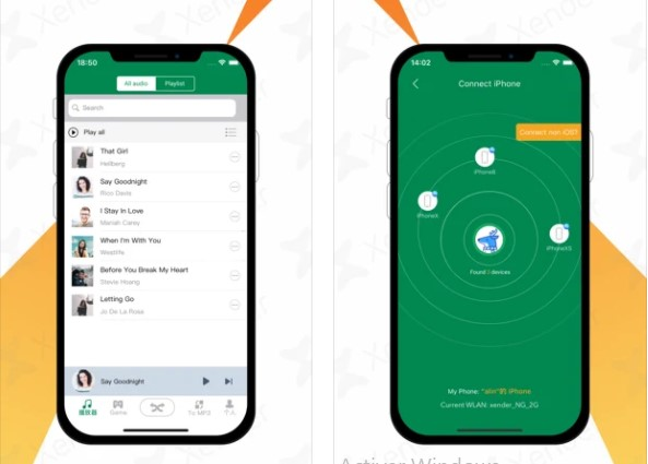 Usar Xender para transferir archivos iOS