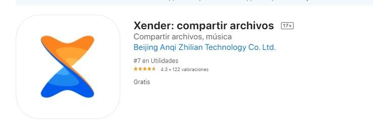Xender para iOS