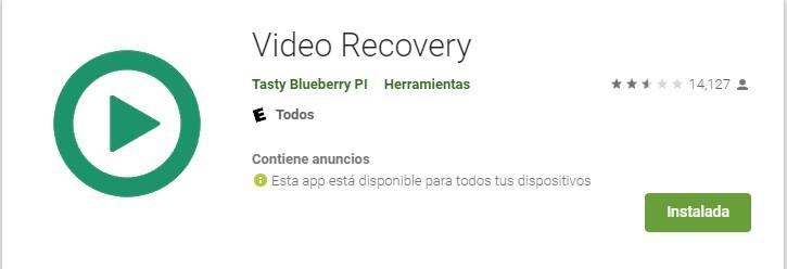 Video Reocvery en Android