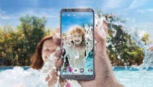 teléfonos inteligentes a prueba de agua